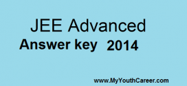 IIT JEE Advanced Answer key 2014 & Solved Question Paper