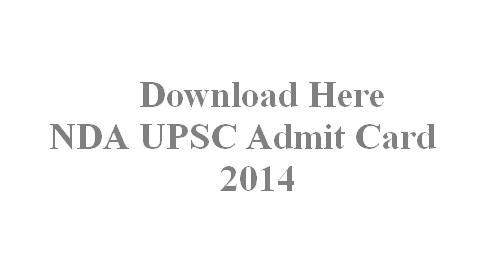 nda na admit card details 2014,NDA Admit card 2014