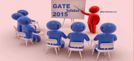 GATE Exam Syllabus 2015 for All Branches M.Tech Admissions