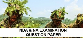 NDA 1 & NA 1 Sample Papers 2015 : Download for Free