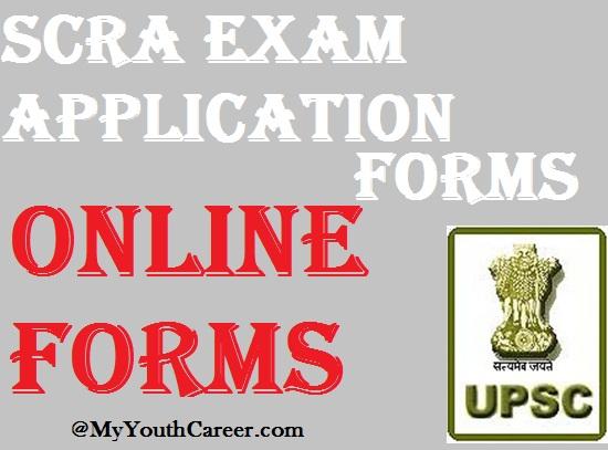 SCRA 2015 exam,SCRA Exam application forms, SCRA Exam registration