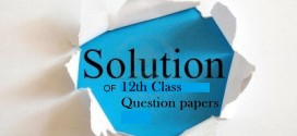 12 Class Exams 2015 Solved Question Papers|All Sets