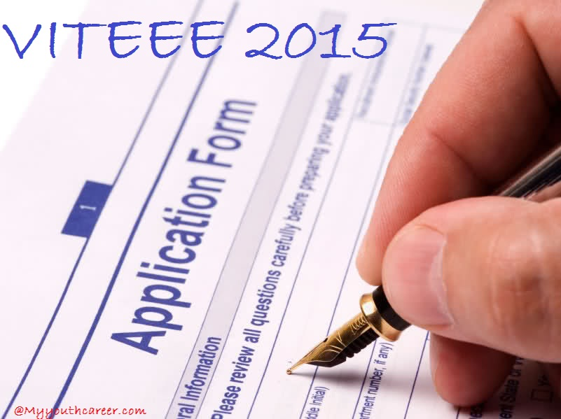 VITEEE application form 2015,Application forms VITEEE 2015,VIT Exam Registration 2015