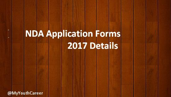 NDA 2 Application forms 2017, NDA Exam 2017 Registrations, NDA Exam 2017 Application forms, Apply for NDA Entrance exam