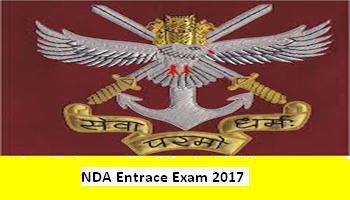 NDA Exam 2017, NDA Exam 2017 Registrations, NDA Exam 2017 Application forms, Apply for NDA Entrance exam