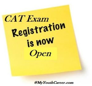 CAT Registration is open, CAT Exam registration forms 2014