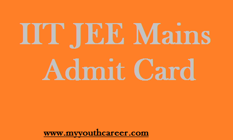 JEE Mains Admit Card 2015
