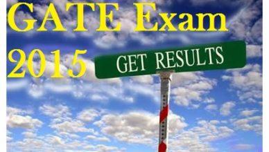 GATE Exam 2015 Result,GATE Exam 2015 Announced Result,GATE exam Result 2015 Dates,GATE Exam 2015 Result Details,GATE 2015 Announced Result Details