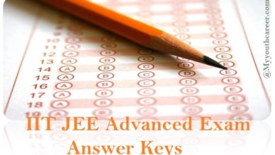IIT JEE advanced exam 2015 answer keys, Answer keys of jee advanced exam 2015