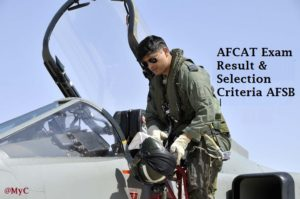 AFCAT Exam 2017 Result, AFCAT Cutoff list 2017, Procedure of AFSB selection 2017, AFCAT exam 2017 results details, AFSB Selection Criteria for AFCAT